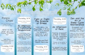 Bard College Stress Management series 2013